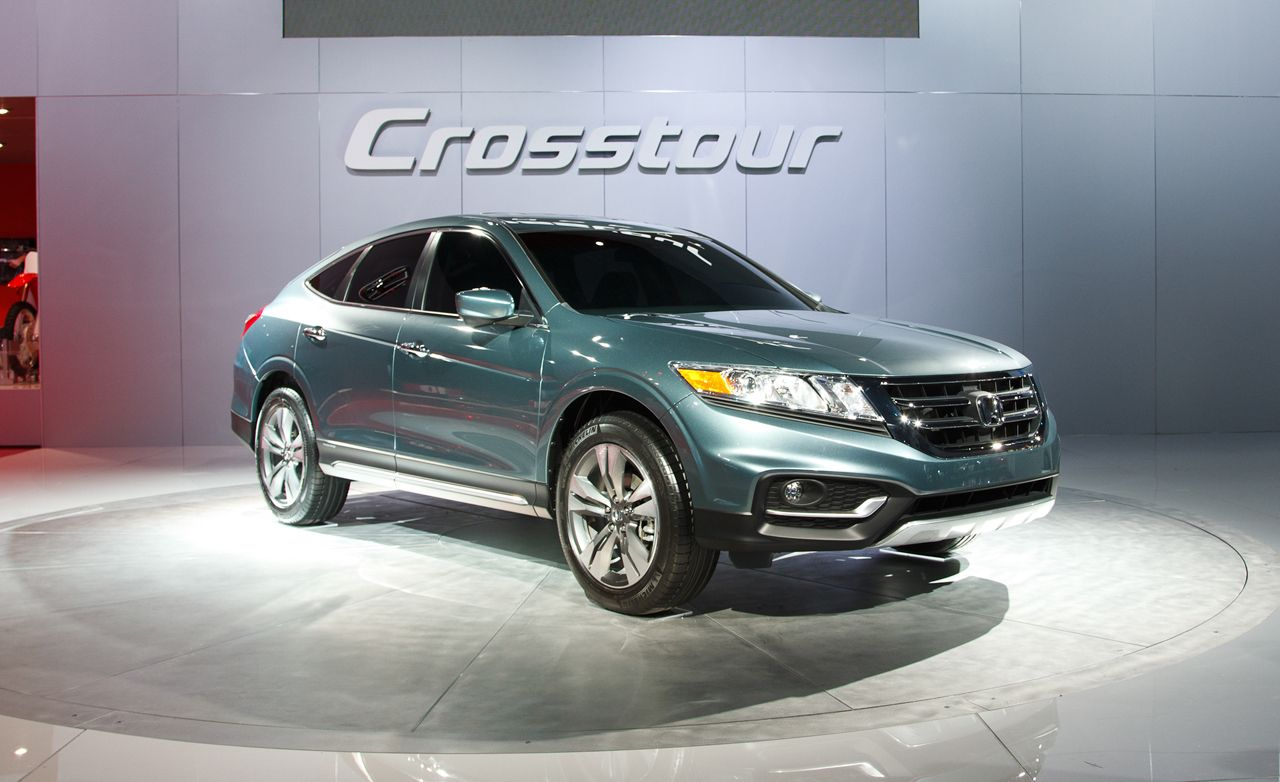 2013 honda crosstour concept photos and info news car and driver. Black Bedroom Furniture Sets. Home Design Ideas