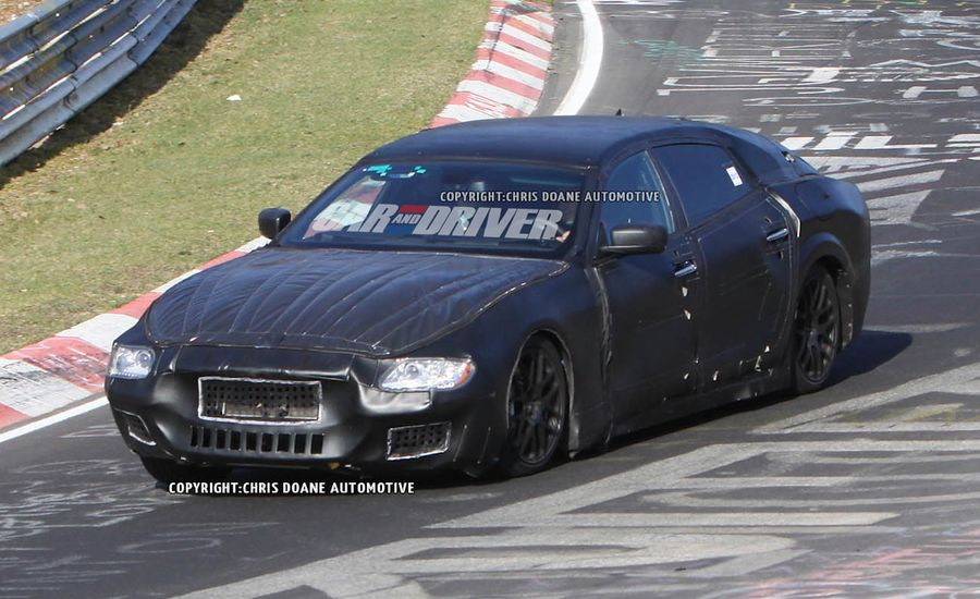 2013 Maserati Quattroporte Spy Photos