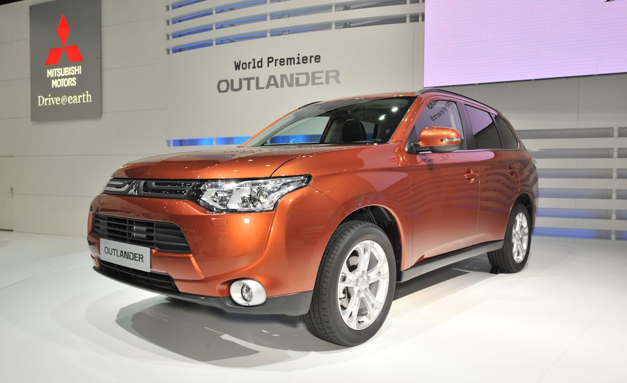 2013 Mitsubishi Outlander Euro-Spec