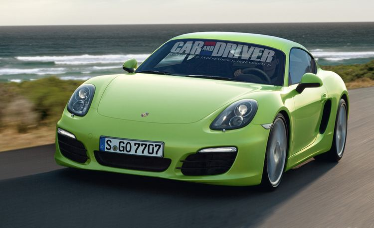 2013 Porsche Cayman / Cayman S Rendered