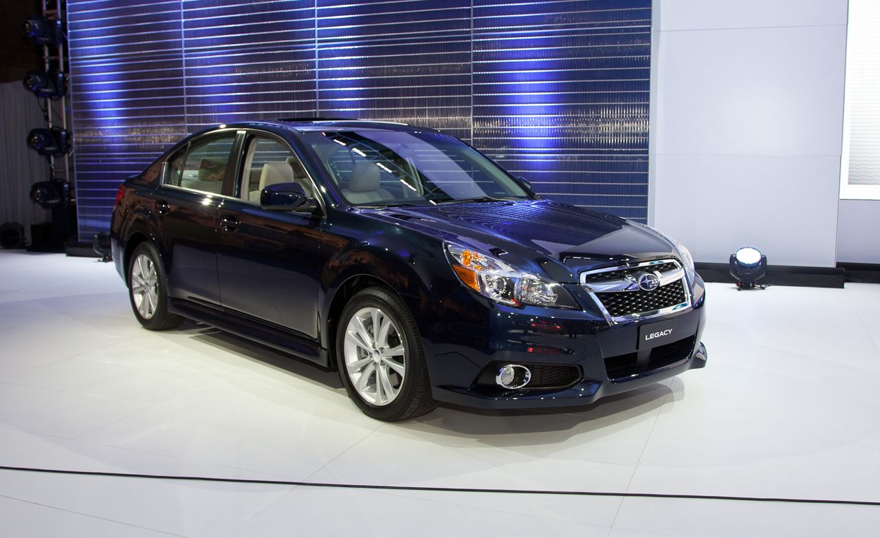2013 Subaru Legacy and Outback