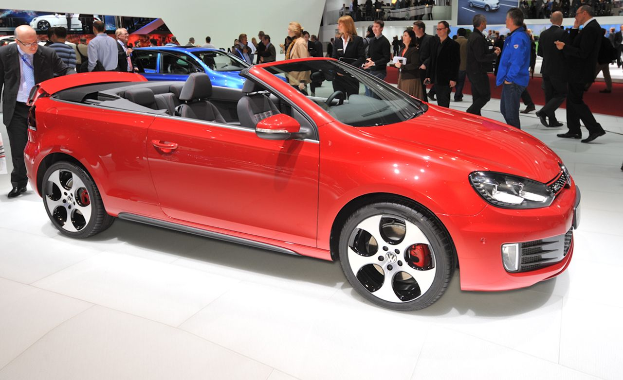 2013 volkswagen golf gti cabriolet photos and info news. Black Bedroom Furniture Sets. Home Design Ideas