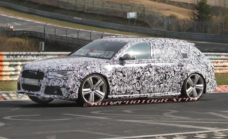 2014 Audi RS6 Avant Spy Photos