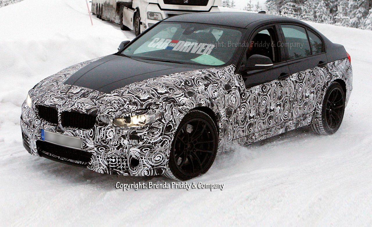 2014 BMW M3 Sedan Spy Photos