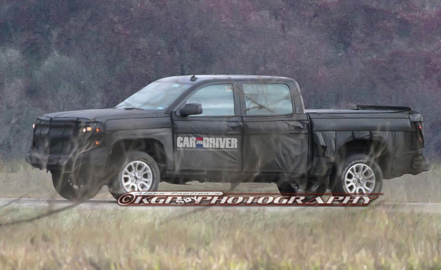 2014 Chevrolet Silverado / GMC Sierra Spy Photos