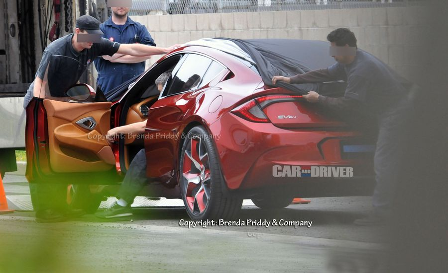 2014 Fisker Nina Spy Photos