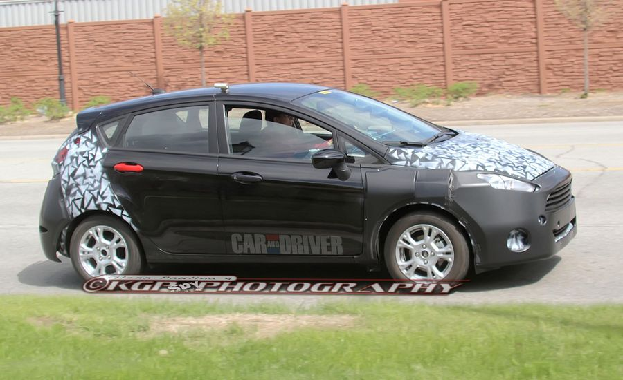 2014 Ford Fiesta Sedan / Hatchback Spy Photos