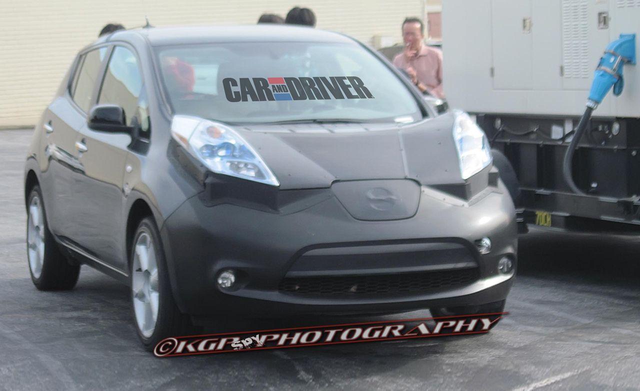 2014 Infiniti Electric Vehicle Spy Photos