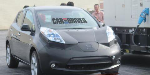 2014 Infiniti Elecric Vehicle Spy Photos 8211 Future Cars 8211