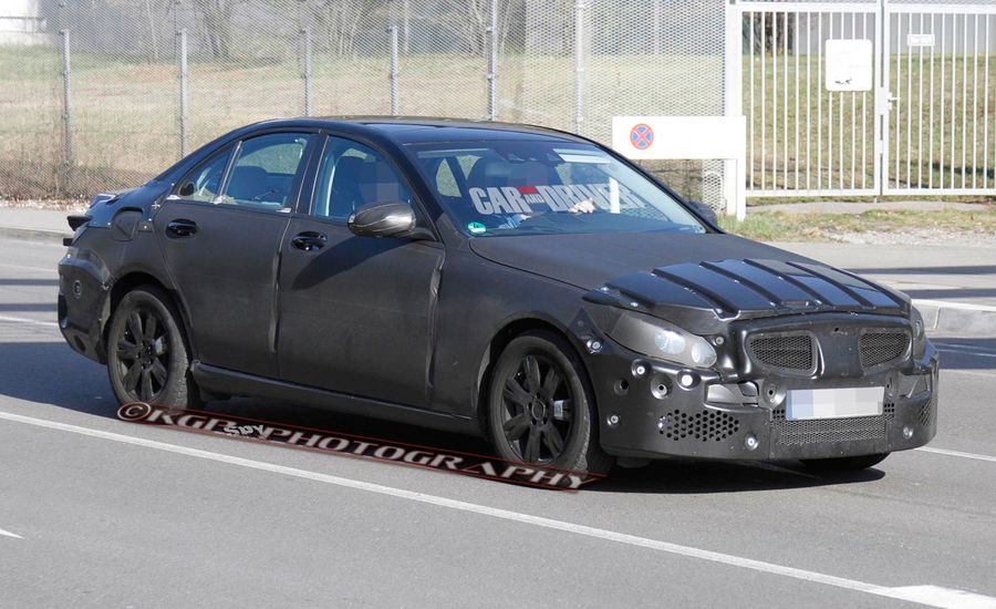 2015 Mercedes-Benz C-class Spy Photos