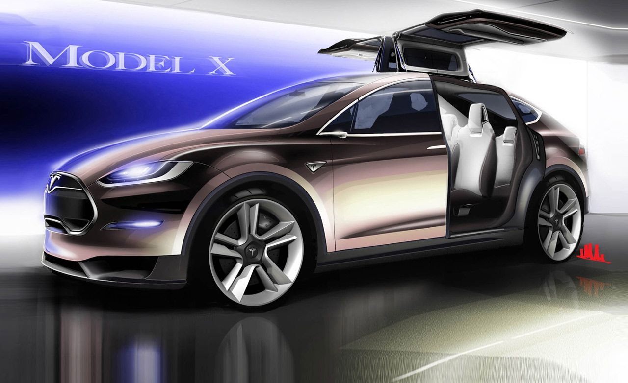 2018 Tesla Model X Reviews Price Photos And Specs Car Driver