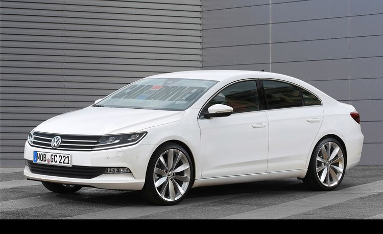 2016 Volkswagen Golf CC Rendered