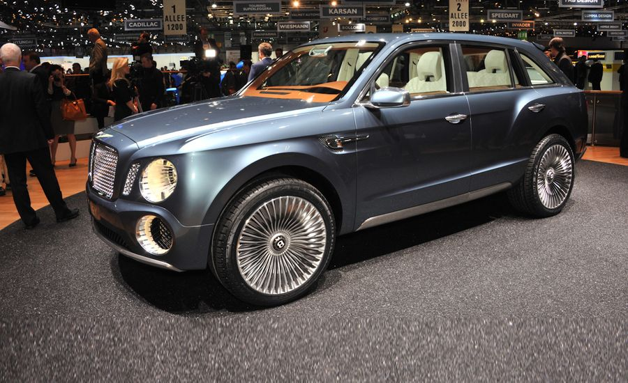 Bentley EXP 9 F Concept | Auto Shows | Car and Driver