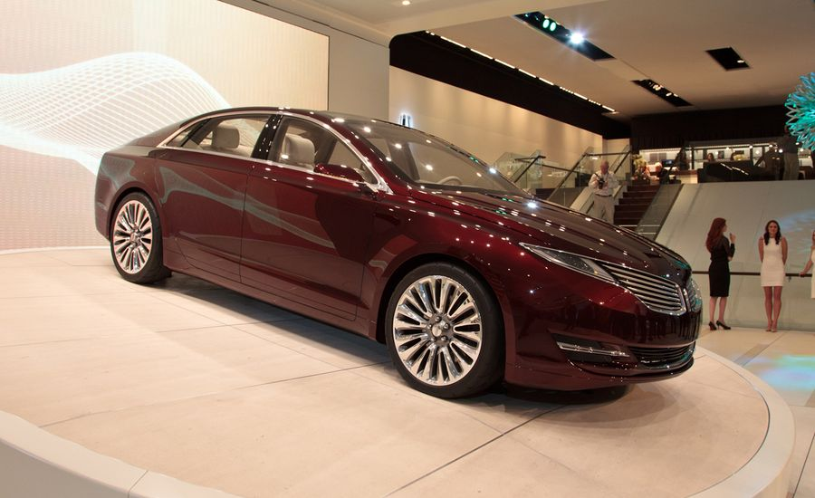 Lincoln MKZ Concept | Auto Shows | Car and Driver