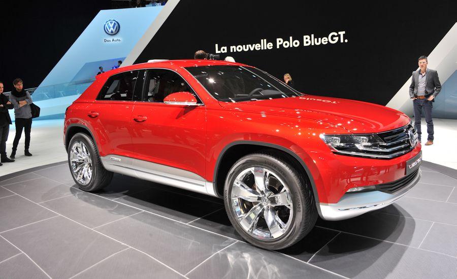 Volkswagen Cross Coupé TDI Hybrid Concept