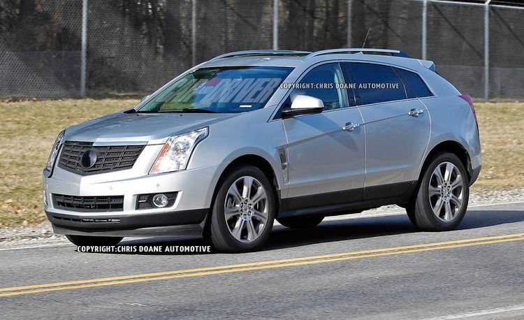 2013 Cadillac SRX Spy Photos