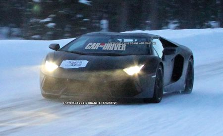 2013 Lamborghini Aventador LP700-4 Roadster Spy Photos