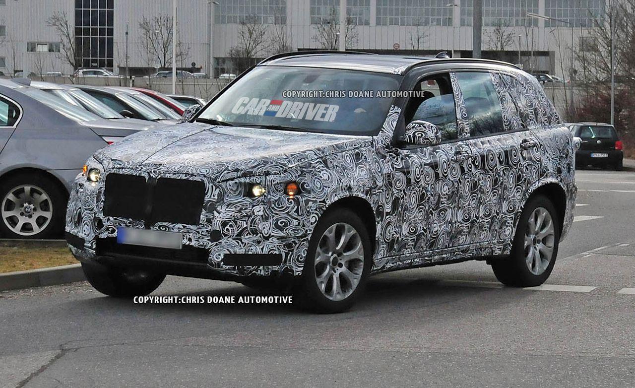 2014 BMW X5 Spy Photos