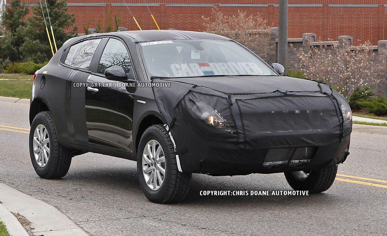 2014 Jeep Liberty Spy Photos News Car And Driver
