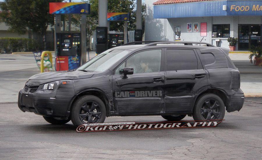2014 Subaru Forester Spy Photos