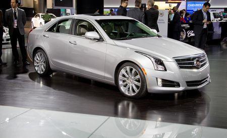 2013 Cadillac ATS @ 2012 Detroit Auto Show
