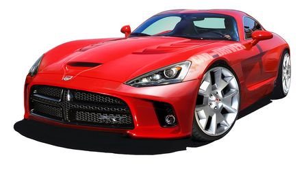 2013 SRT Viper Rendered