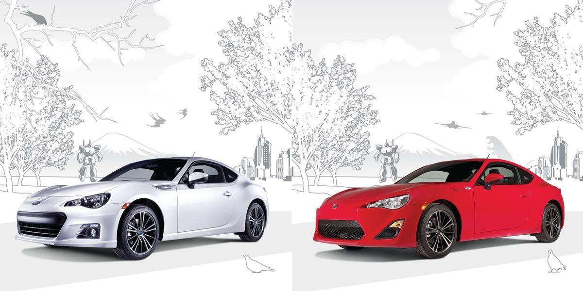 2013 Subaru BRZ and 2013 Scion FR-S: A Study in Comparison ...