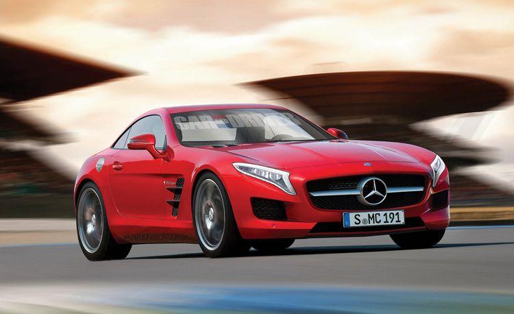 2015 Mercedes-AMG SLC Rendered