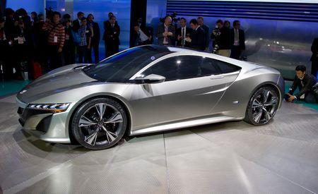 Acura NSX Concept @ 2012 Detroit Auto Show