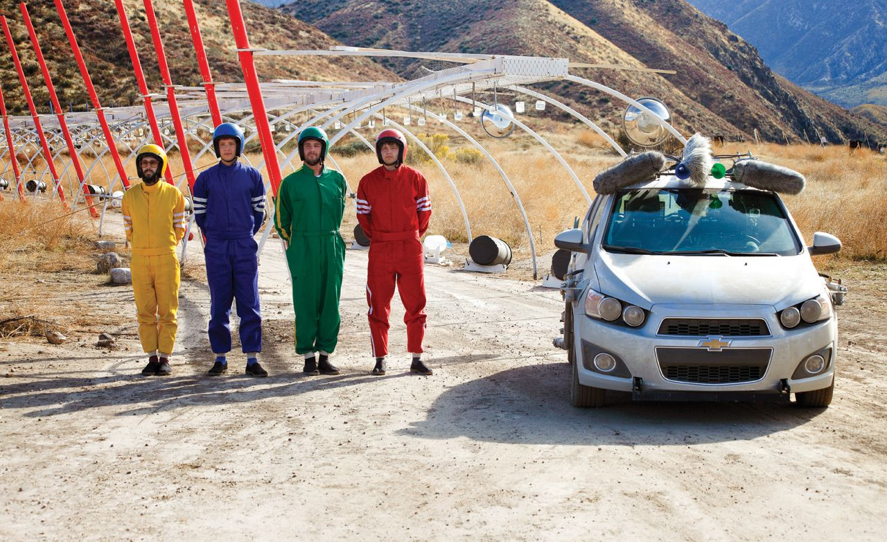 """Car Commercialism: The Making of OK Go's """"Needing/Getting"""" Music Video"""
