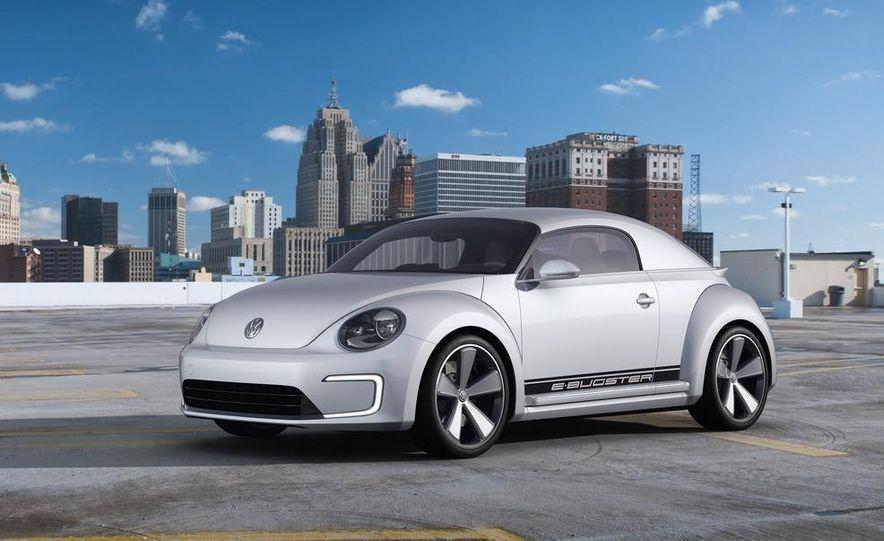 Volkswagen E-Bugster concept - Slide 9