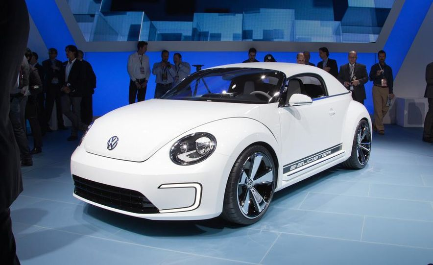 Volkswagen E-Bugster concept - Slide 4