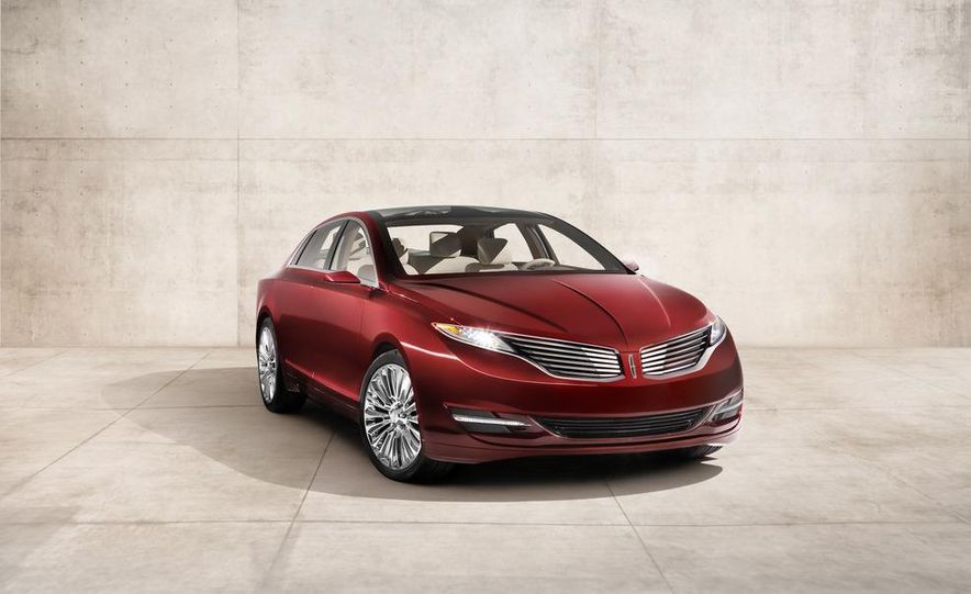 Lincoln MKZ concept - Slide 13