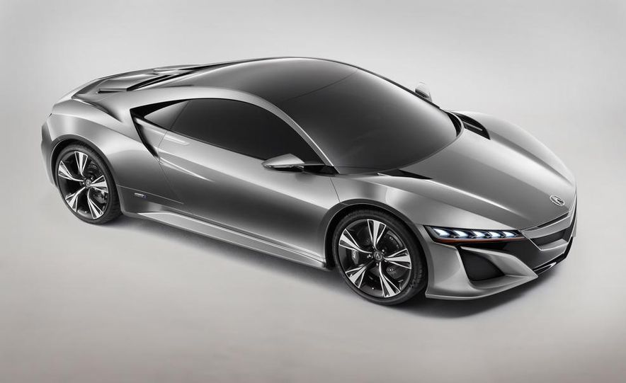 Acura NSX concept - Slide 26