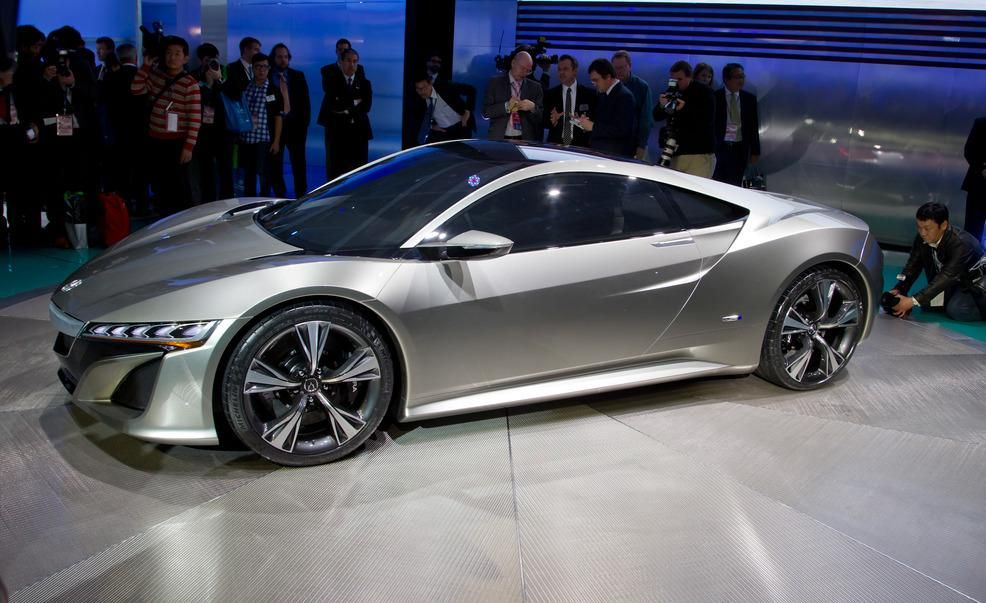 Worksheet. Acura NSX Concept  News  Car and Driver