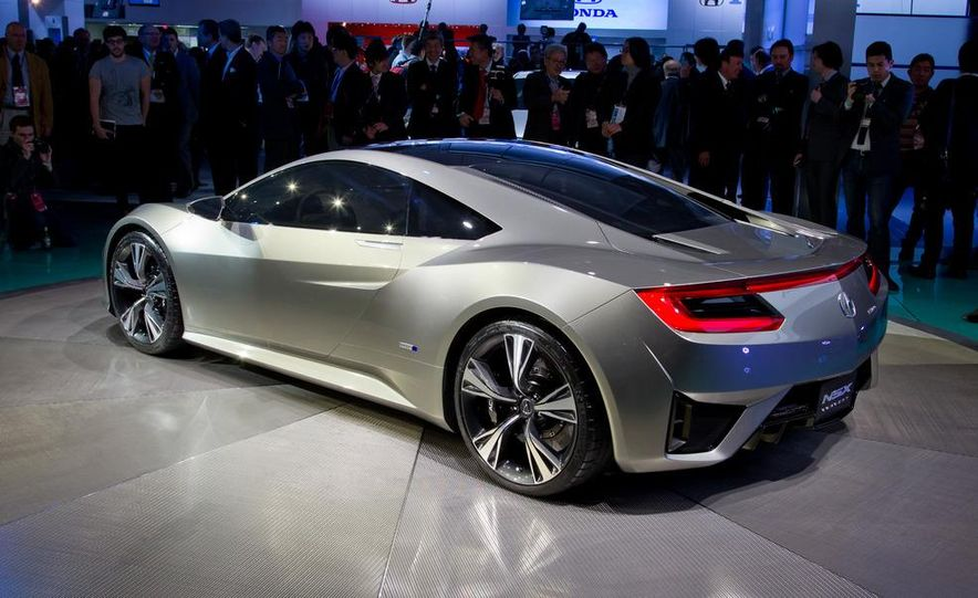 Acura NSX concept - Slide 8