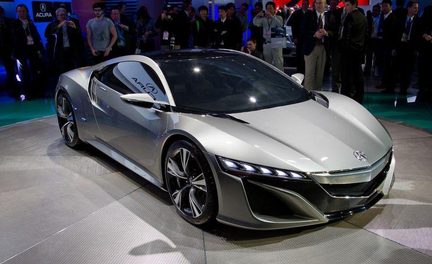 Acura NSX concept - Slide 13