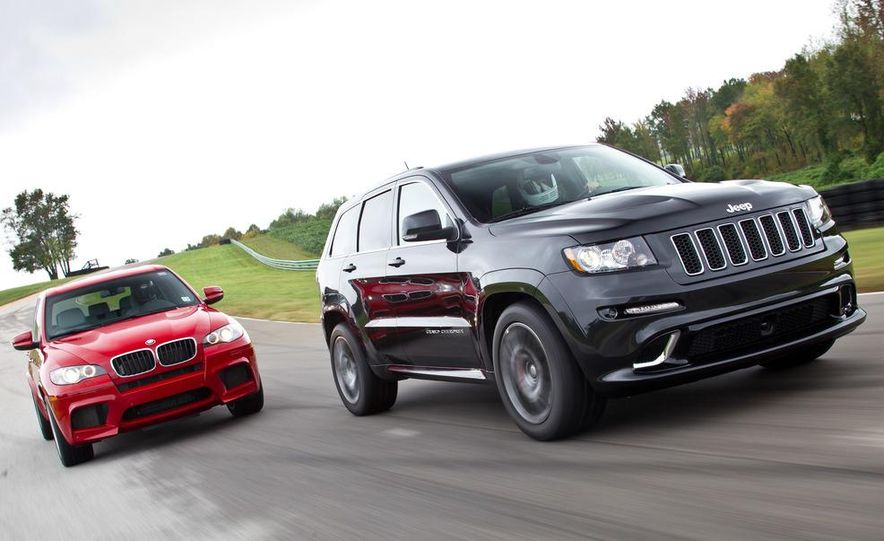 2012 BMW X5 M and 2012 Jeep Grand Cherokee SRT8 - Slide 1