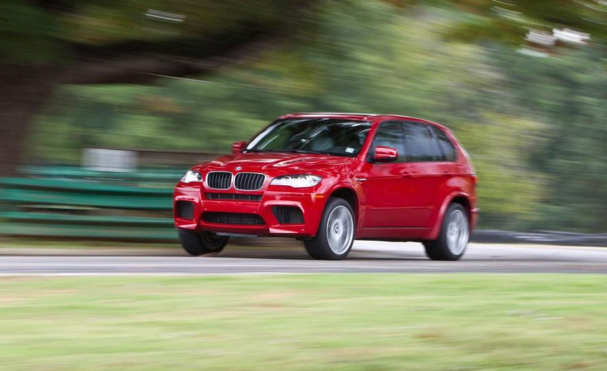 2012 BMW X5 M and 2012 Jeep Grand Cherokee SRT8 - Slide 6