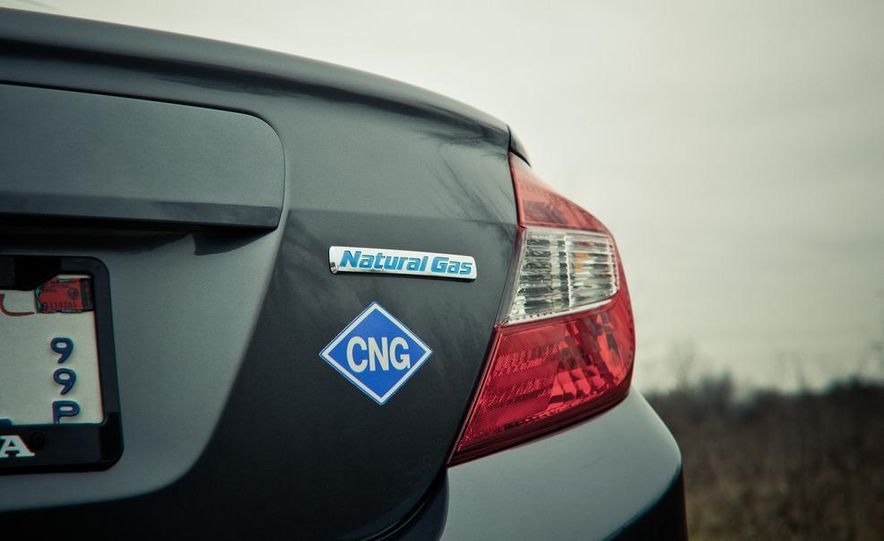 2012 Honda Civic CNG - Slide 5