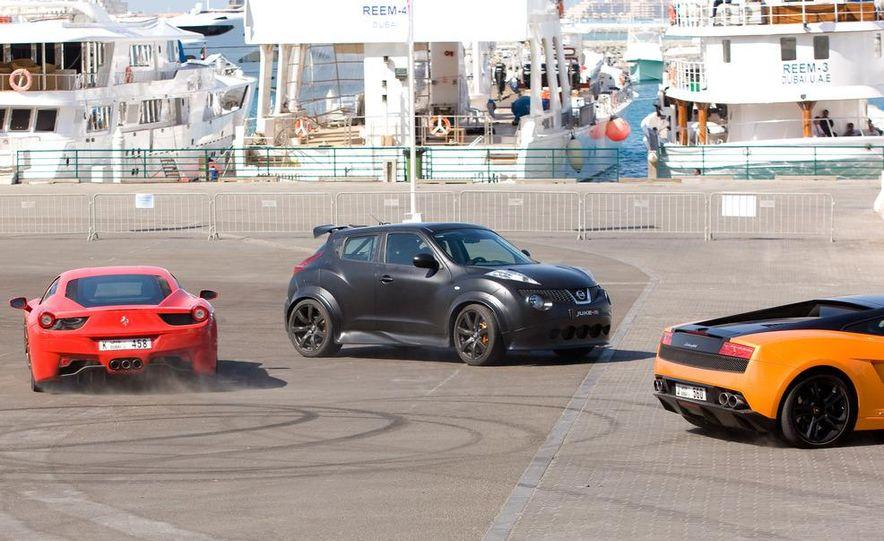 458 Italia and Nissan Juke-R - Slide 10