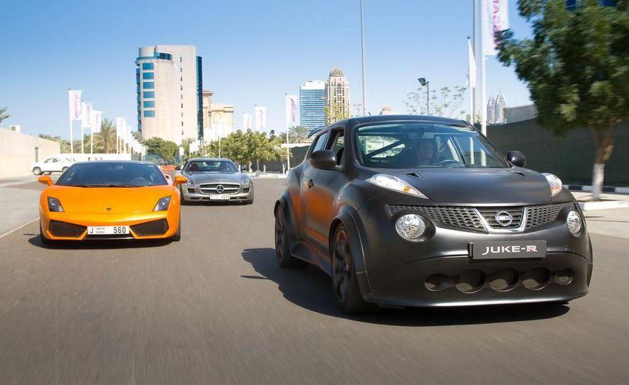 458 Italia and Nissan Juke-R - Slide 14