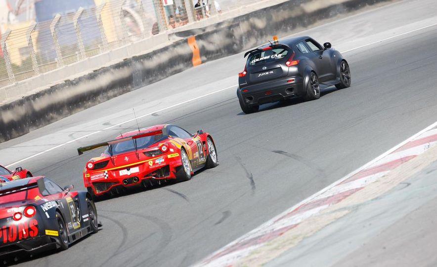 458 Italia and Nissan Juke-R - Slide 2