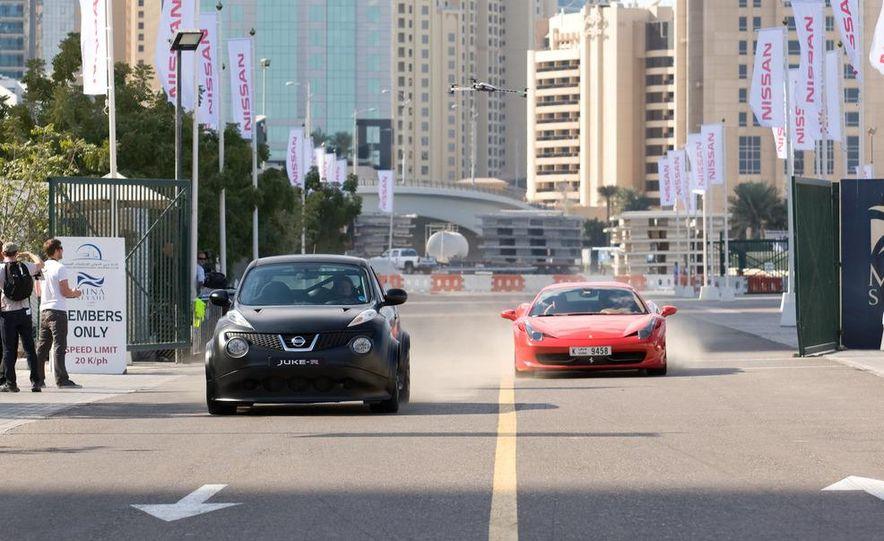 458 Italia and Nissan Juke-R - Slide 5
