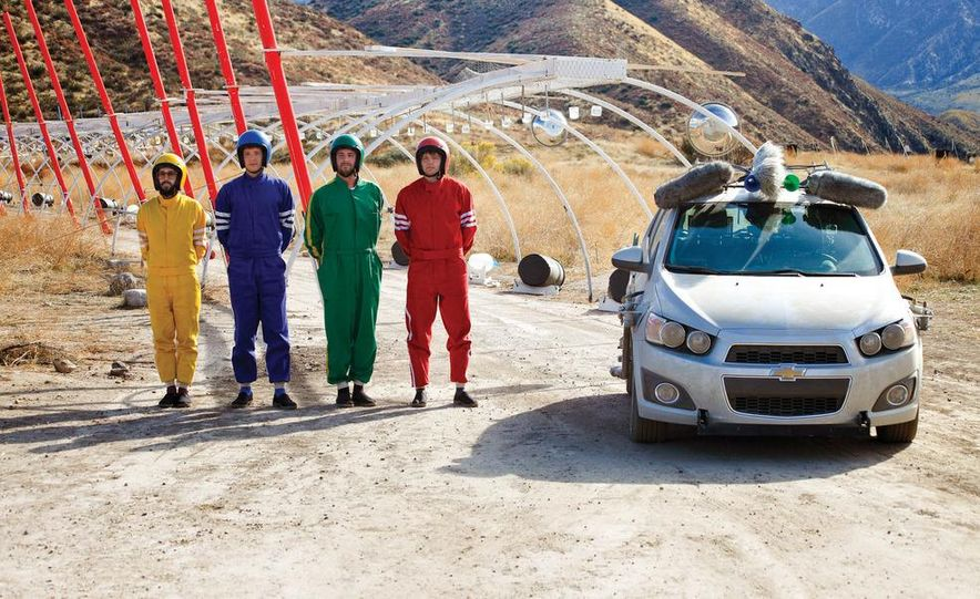 """Car Commercialism: The Making of OK Go's """"Needing/Getting"""" Music Video - Slide 1"""