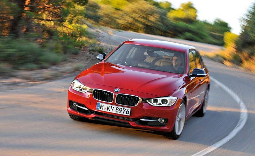 2012 BMW 335i Sport Line sedan (Euro-spec) - Slide 6