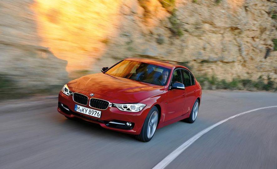 2012 BMW 335i Sport Line sedan (Euro-spec) - Slide 7