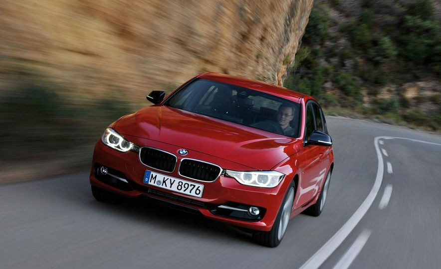 2012 BMW 335i Sport Line sedan (Euro-spec) - Slide 9