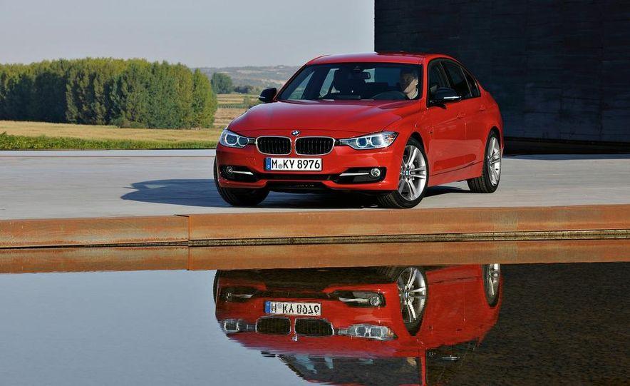 2012 BMW 335i Sport Line sedan (Euro-spec) - Slide 14