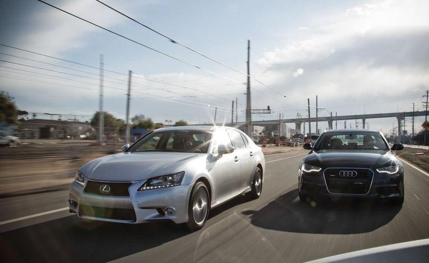 2013 Lexus GS350 and 2012 Audi A6 3.0T Quattro - Slide 1